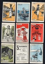 Antique cards game Snapshots by Church missionary Society,circa 1910,